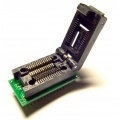 Adapter uniwersalny SOIC28 / SOP28 / SO28 --> PDIP28 (DIL28) clamshell ZIF